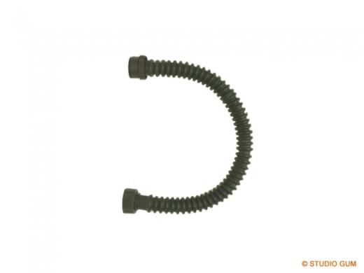 Latex Faltenschlauch mit Schlauchanschluß LS33-SA
