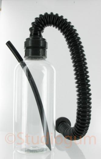 Urine-Inhaler Transparent 1,0 Liter