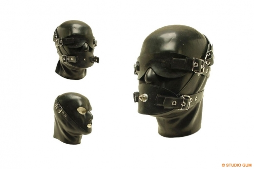 discipline mask dm 3 heavy rubber by studio gum. Black Bedroom Furniture Sets. Home Design Ideas