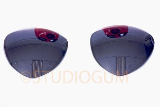 Dark Eyeglasses Typ 2