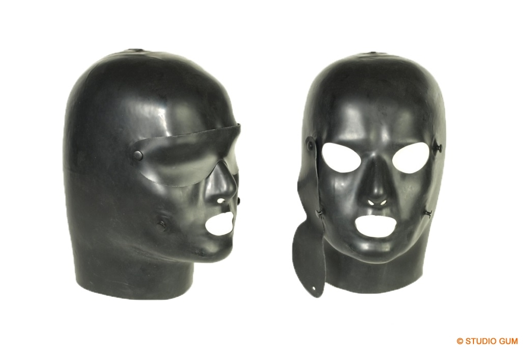 discipline latex mask dm 1 heavy rubber by studio gum. Black Bedroom Furniture Sets. Home Design Ideas