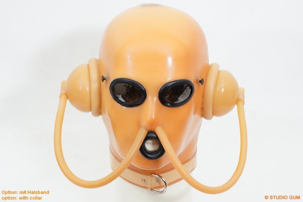 Die Masken für die Person von den Falten.